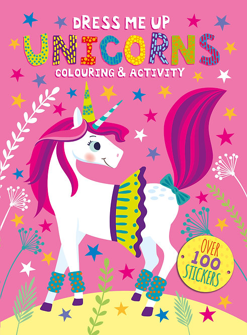 Dress Me Up Colouring and Activity Book - Unicorns