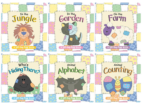 Animal Patch Mini Lift-the-Flap Board Books