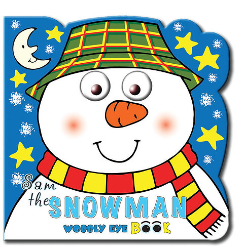 Snowman - Wobbly Eye Book