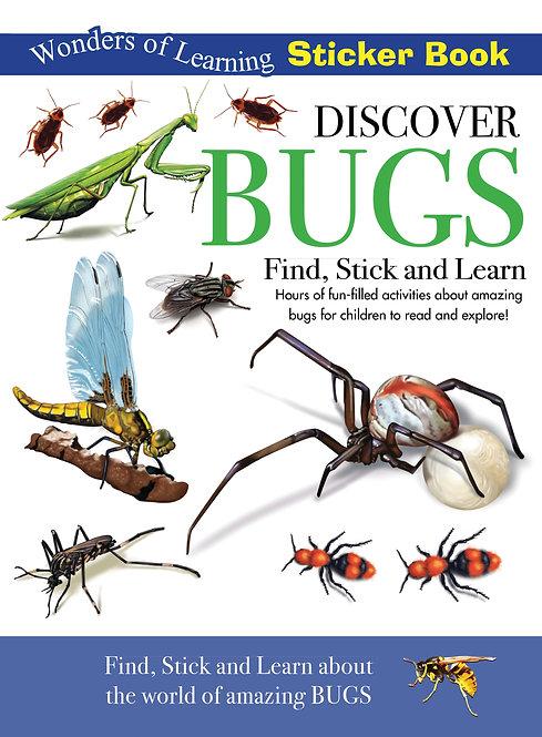 Sticker Book - Discover Bugs