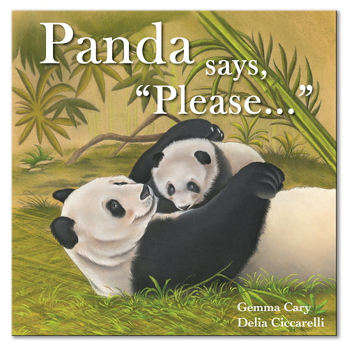 "Panda says, ""Please..."""