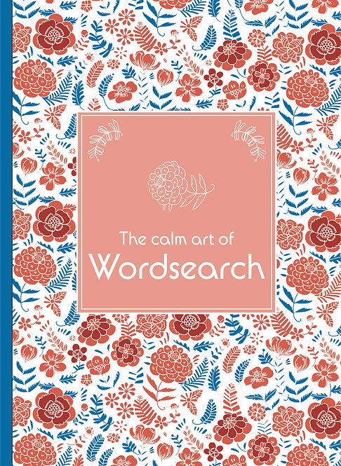 Grown Up Wordsearch - Pink