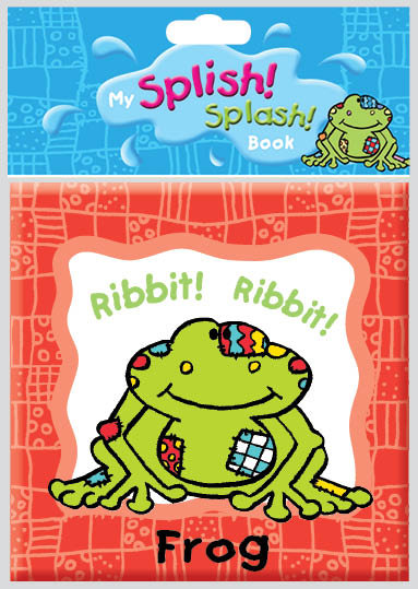 Splish! Splash! Frog Bath Book