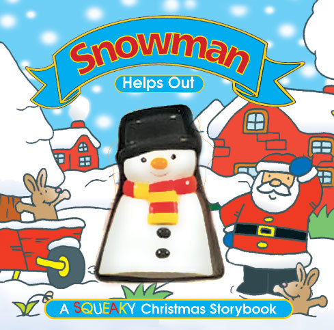 Snowman Helps Out - Squeaky Book
