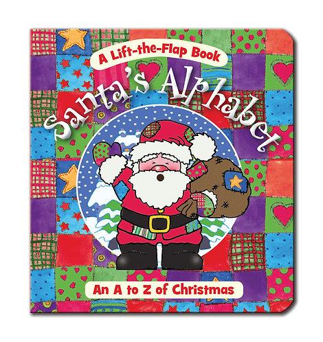 Santa's Alphabet - Mini Lift-the-Flap Books