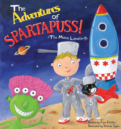 The Adventures of Spartapuss!  The Moon Landings