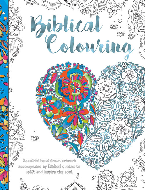 Biblical Colouring - Heart
