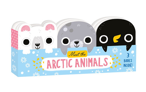 Meet the Arctic Animals - Mini Board Book Set