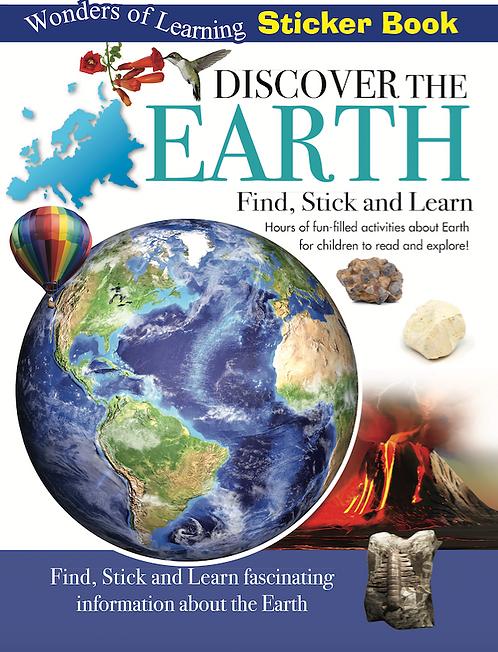 Sticker Book - Discover the Earth
