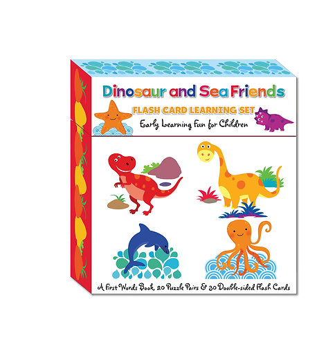 Large Flash Card Learning Sets