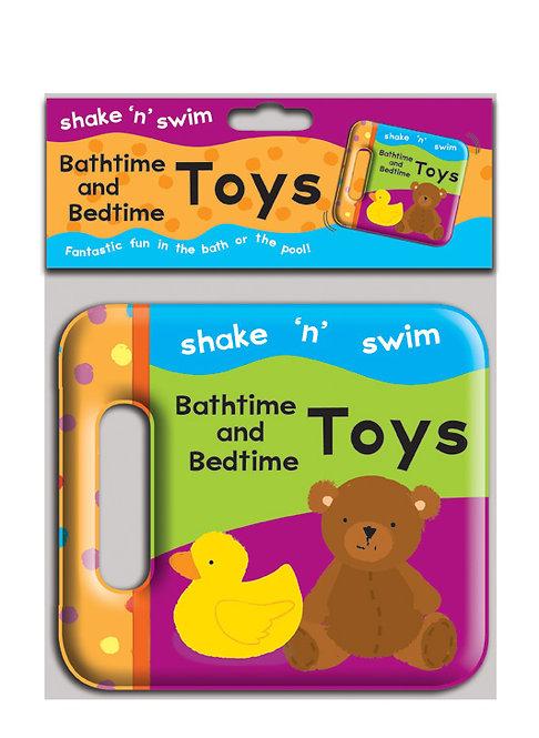 Shake 'n' Swim Bathtime and Bedtime Toys Bath Book