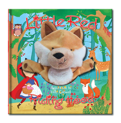 Little Red Riding Hood Large Hand Puppet Book