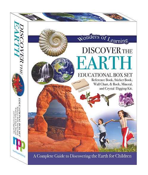 Wonders of Learning Box Set - Discover The Earth