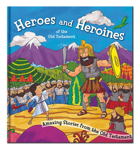 Heroes and Heroines - Bible Story Book
