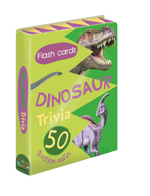 Flash Cards - Dinosaur Trivia