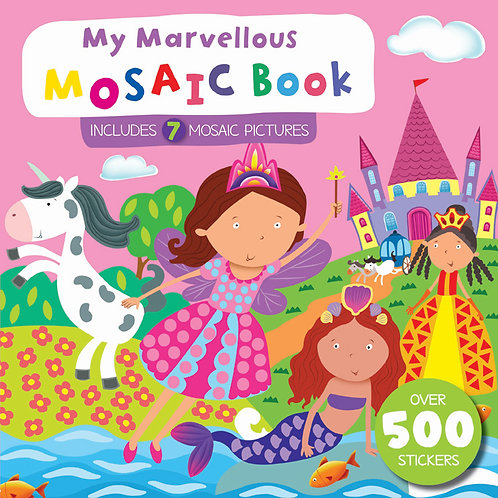 My Marvellous Mosaic Book - Pink