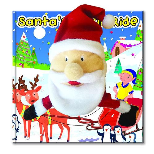 Santa's Sleigh Ride - Hand Puppet Book