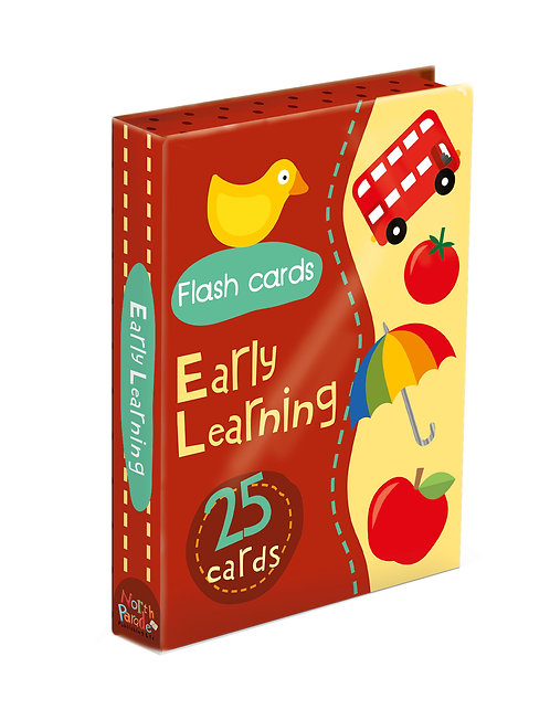 Flash Cards - Early Learning Red