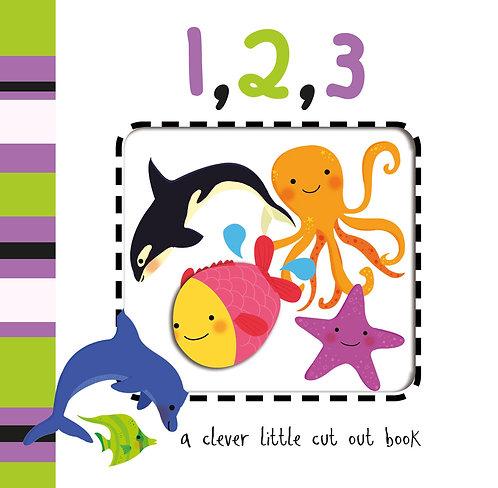 1,2,3 Cut Out Board Book