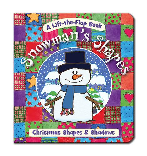 Snowman's Shapes - Mini Lift-the-Flap Books