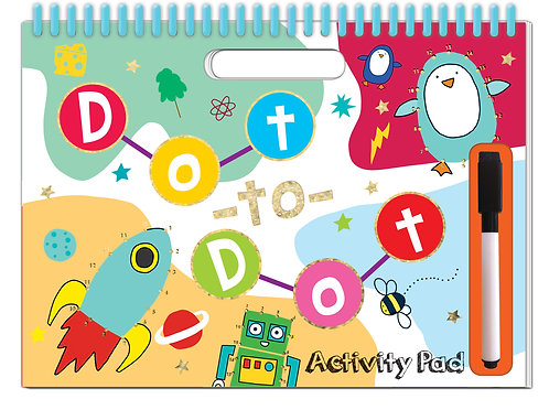 Dot-to-Dot Activity Pad