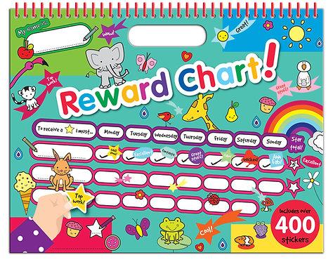 Reward Chart with Stickers - Dinosaur & Jungle