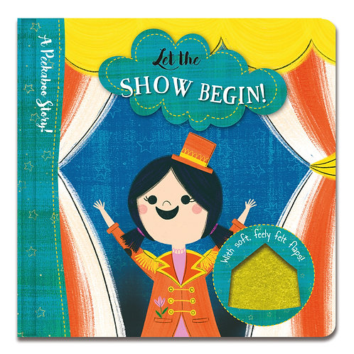 A Peekaboo Story! Let the Show Begin!