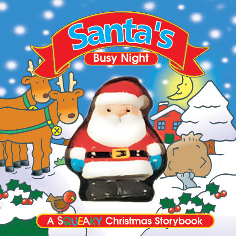 Santa's Busy Night - Squeaky Book