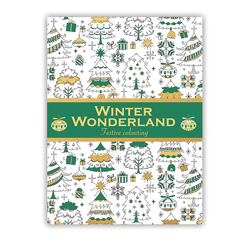 Winter Wonderland Festive Colouring