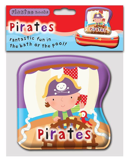 Pirate Bath Time Floatee Book