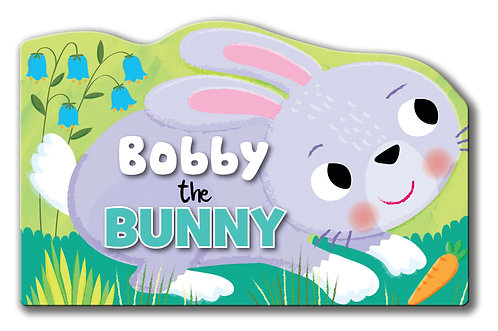 Bobby the Bunny - Shaped Animal Book