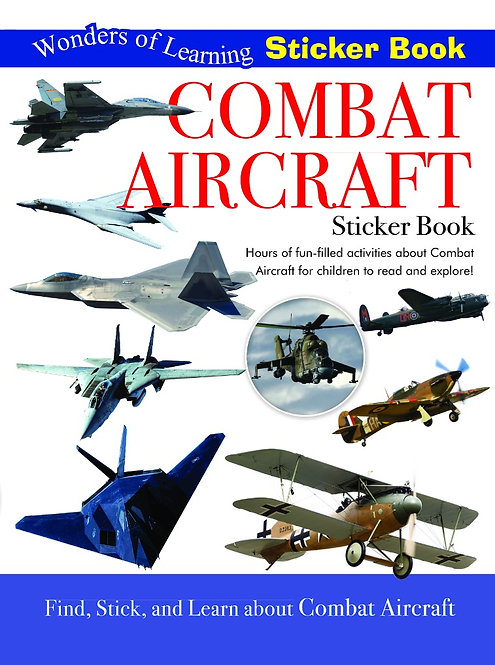 Sticker Book - Combat Aircraft