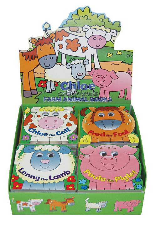 Farm Animals Googly Eye Board Books