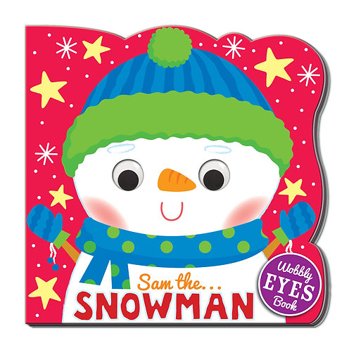 Sam the Snowman Wobbly Eyes Book