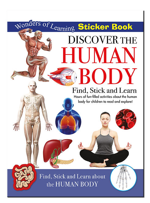 Sticker Book - Discover the Human Body