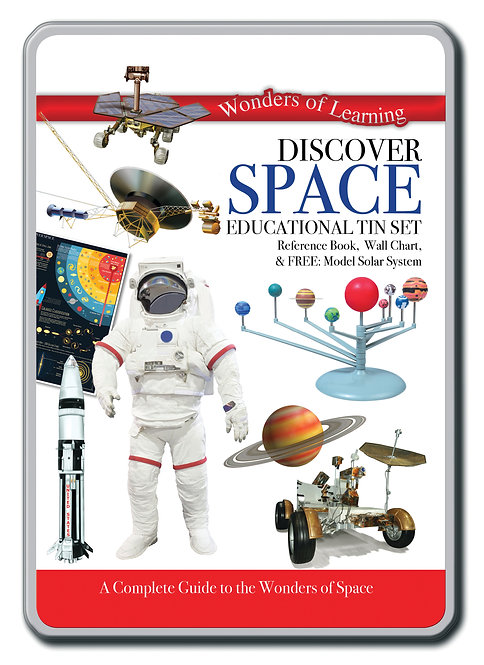 Tin Set - Discover Space