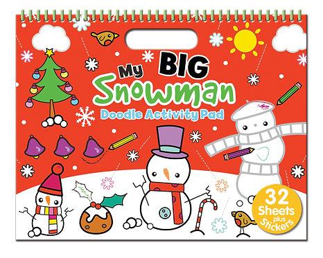 My Big Snowman Doodle Activity Pad