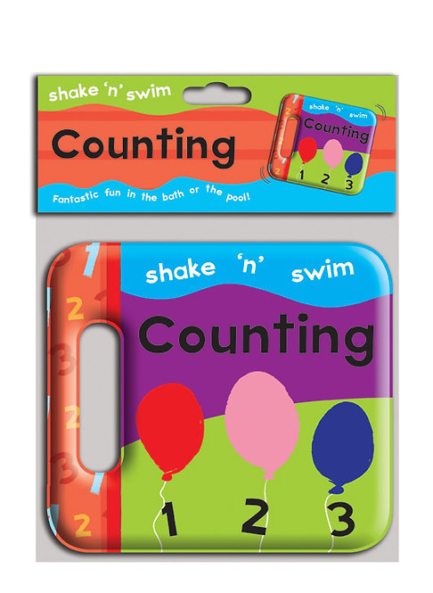 Shake 'n' Swim Counting Bath Book