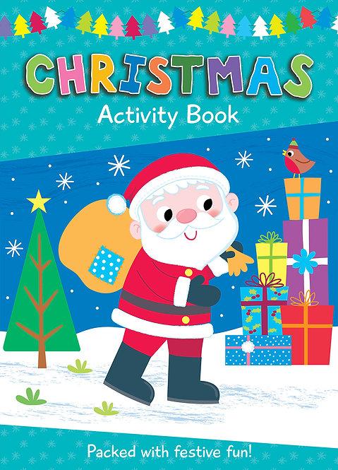 Santa Christmas Colouring Activity Book