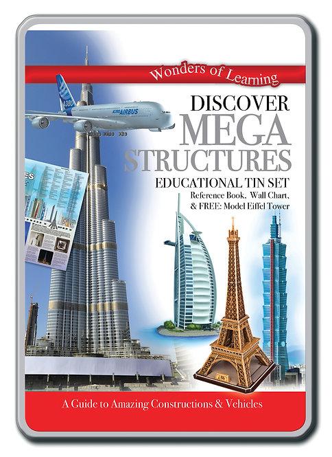 Tin Set - Discover Mega Structures