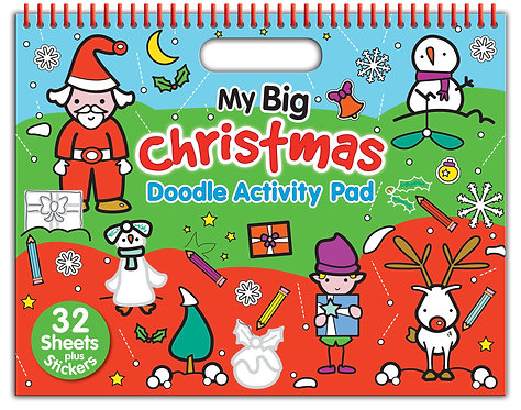 My Big Christmas Doodle Activity Pad