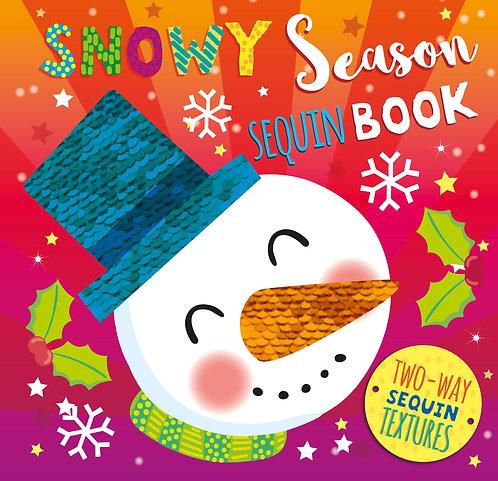 Snowy Season Sequin Book