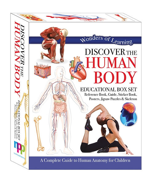 Wonders of Learning Box Set - Discover the Human Body