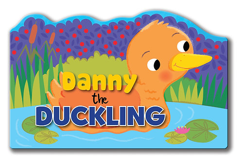 Danny the Duckling - Shaped Animal Book