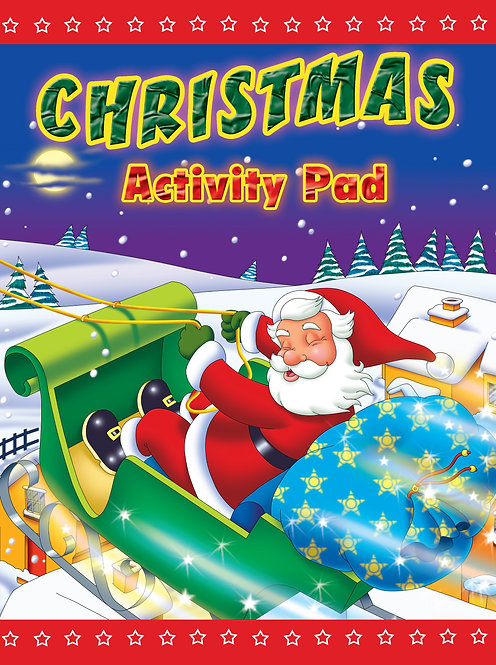 Christmas Santa - Activity Pad