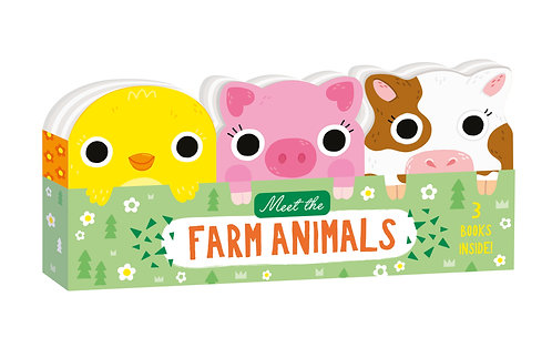Meet the Farm Animals - Mini Board Book Set