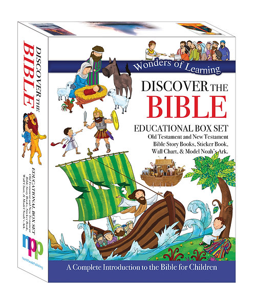 Wonders of Learning Box Set - Discover The Bible