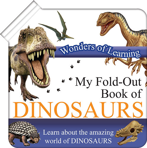 My Fold-Out Book of Dinosaurs