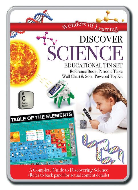 Tin Set - Discover Science