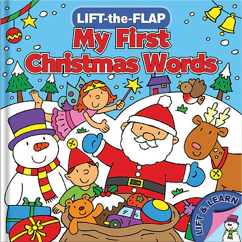 My First Christmas Words - Lift-the-Flap Book